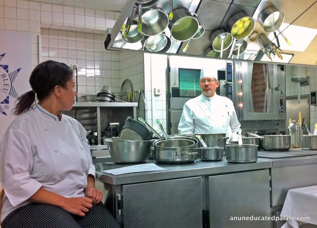 Chef Teaching at Le Cordon Bleu Paris | TheCulinaryTravelGuide.com