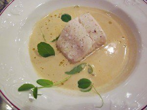 Seared Vancouver Island Sable Fish Prawn and crab bisque   TheCulinaryTravelGuide.com