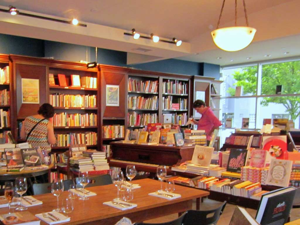 Barbara Jo's Books to Cooks bookstore in Vancouver, BC