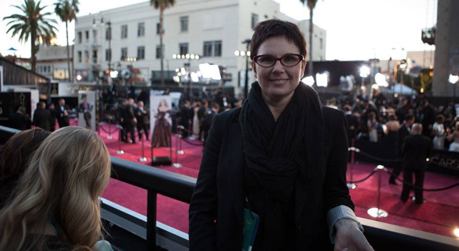 Andi Fisher at the Oscars | TheCulinaryTravelGuide.com