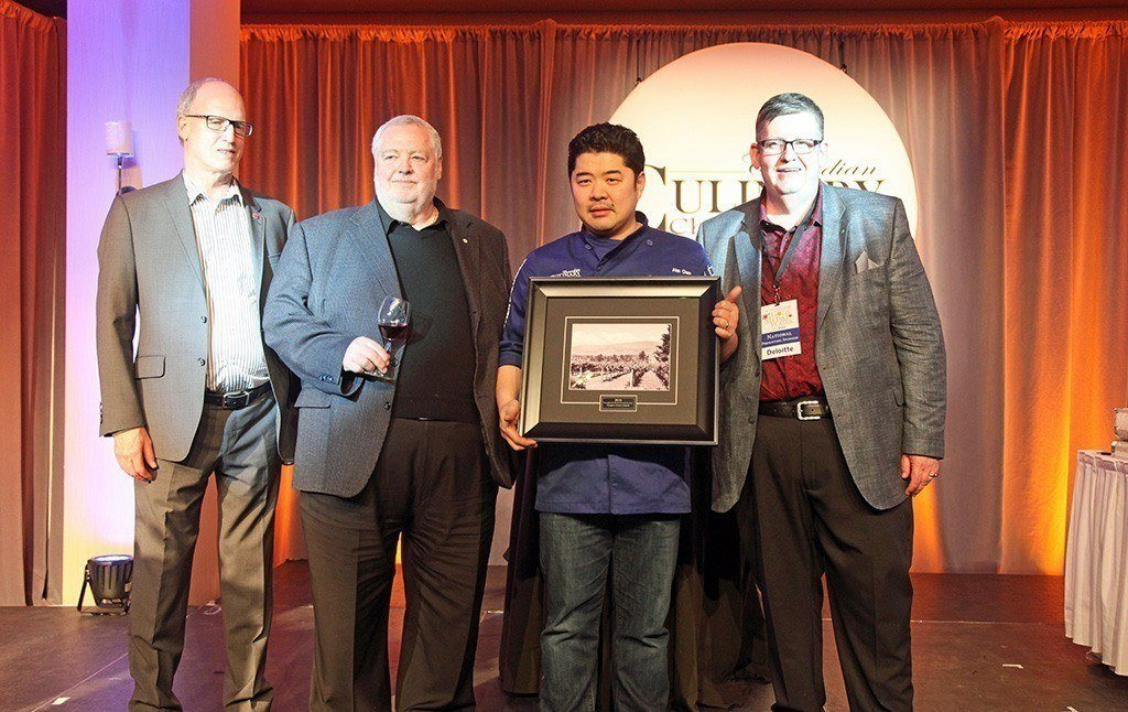 2016 Canadian Culinary Championships People's Choice Winner Alex Cheng