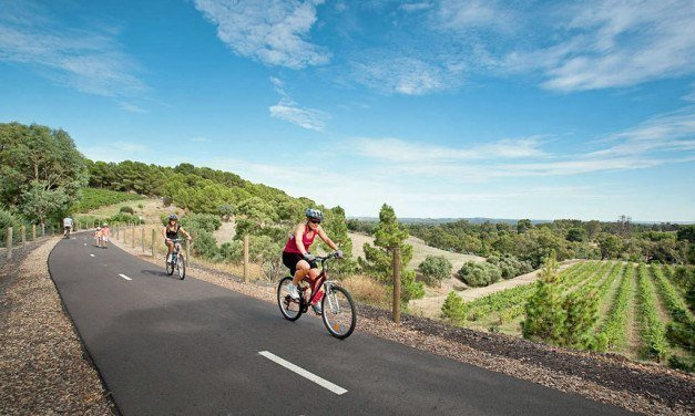Australia's Best Cycling Trails for Grape Nuts