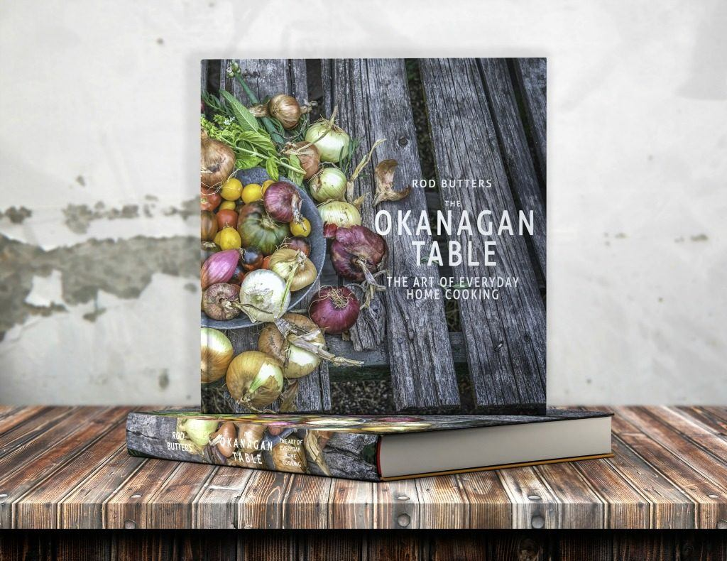 A mock-up of the newest cookbook in production from Chef Rod Butters.