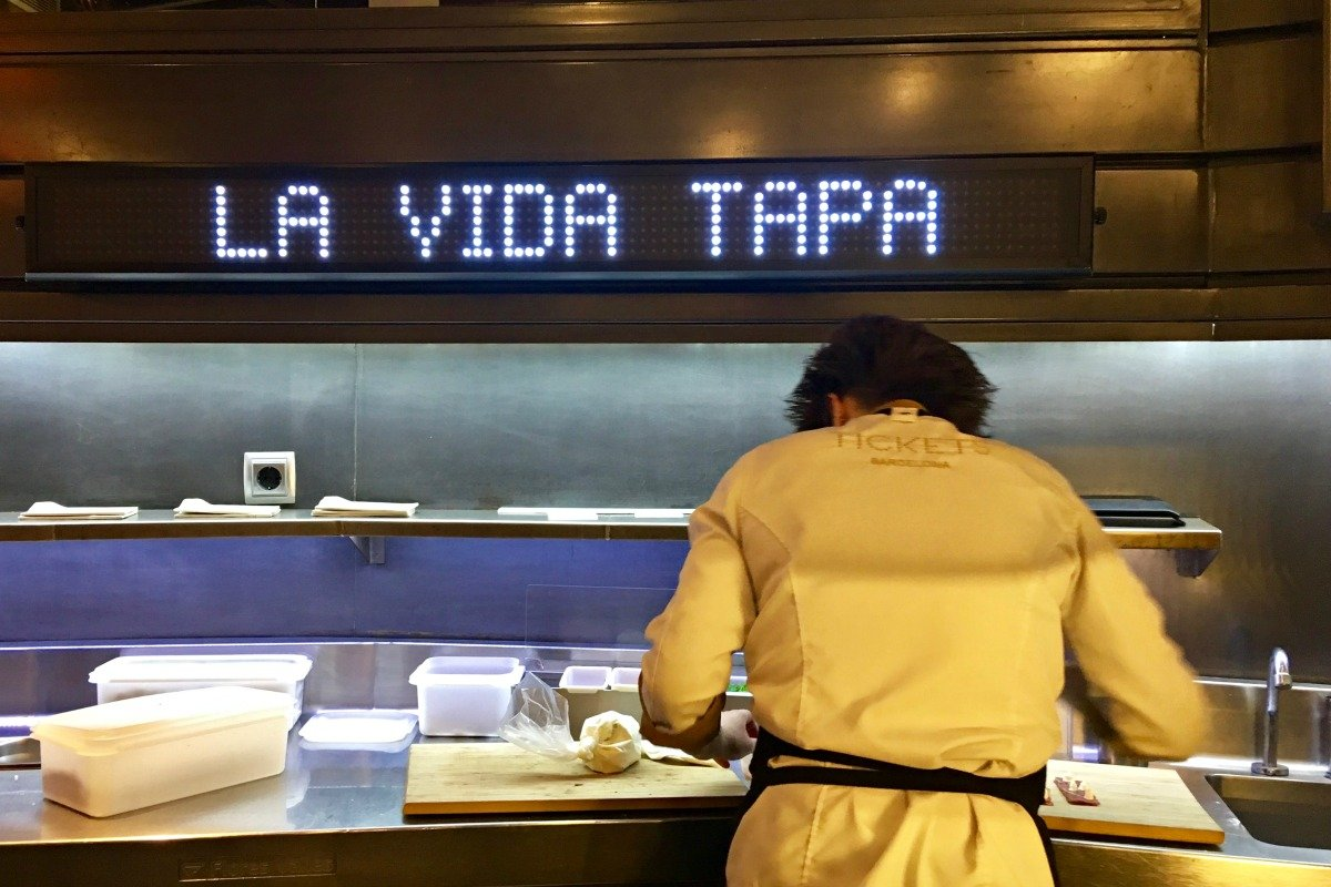 La Vida Tapa at Restaurant Tickets Barcelona