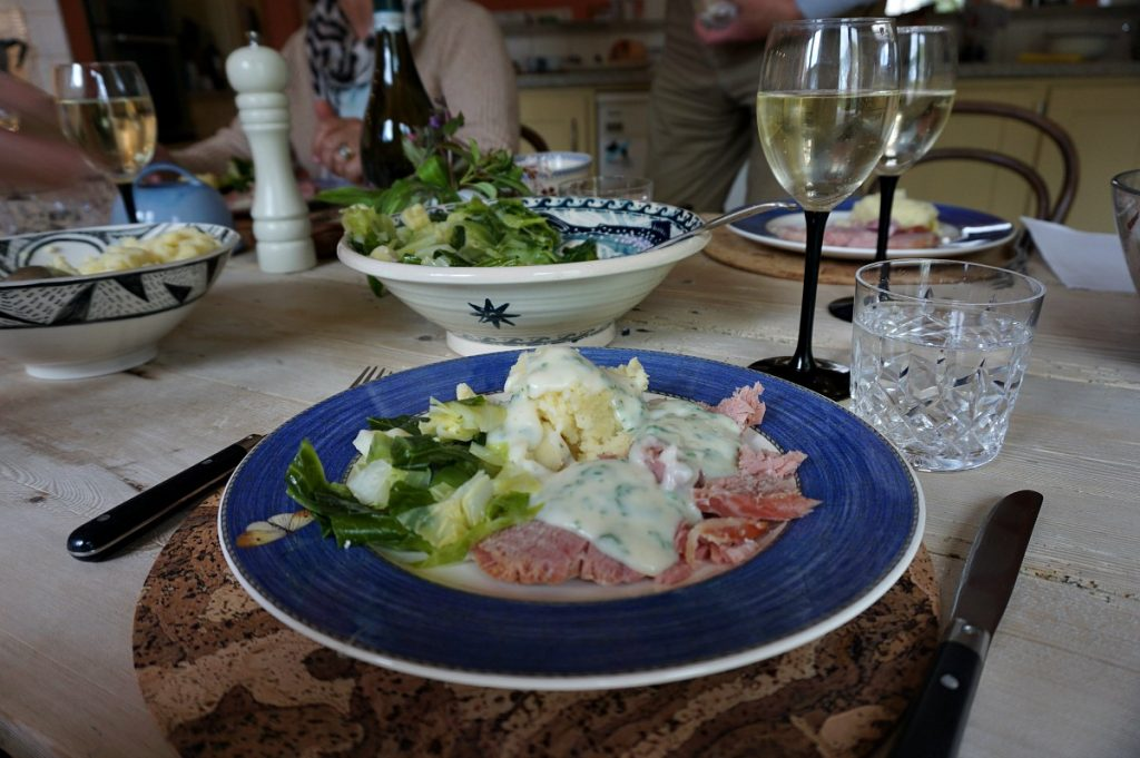 Dinner is served at one of Ireland's best food experiences