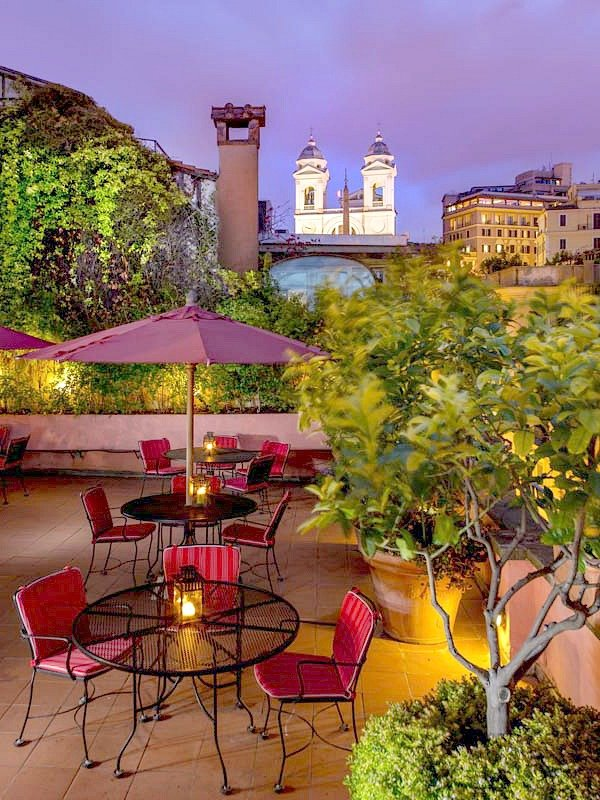 Where to Stay in Rome: The Inn at the Spanish Steps