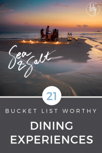 21 Luxury Hotels with Unmissable Food experiences
