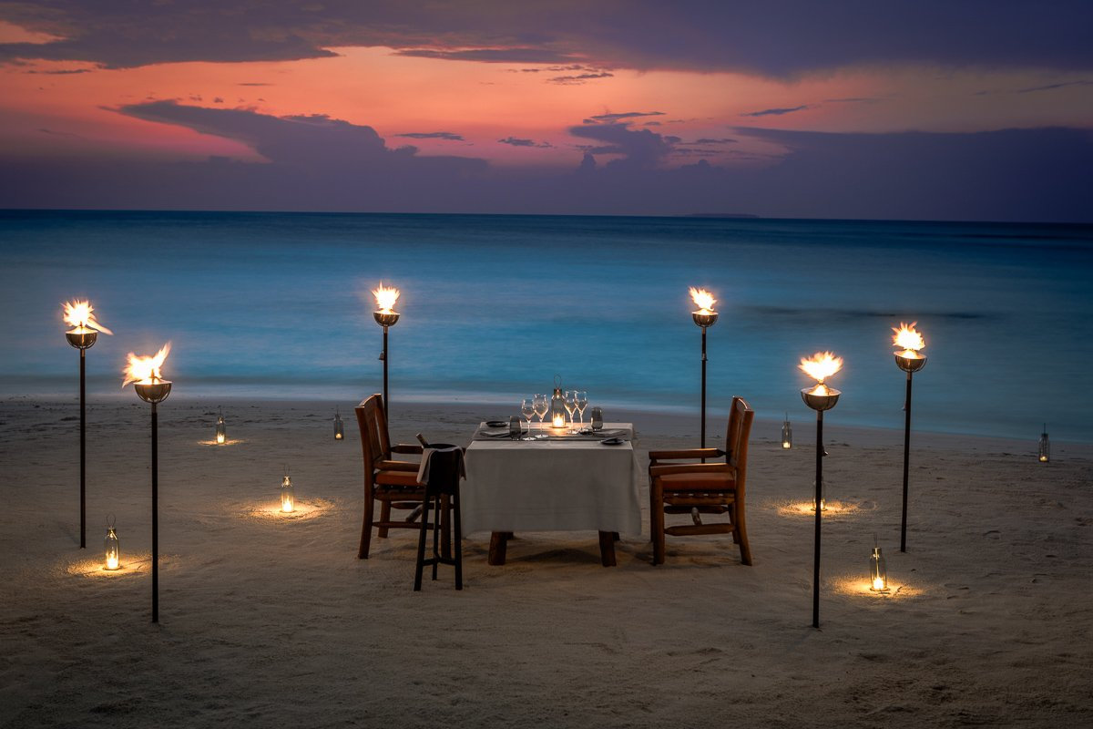 Maldives Food Experiences - Mood Dining Menus at Milhaidoo Island Maldives