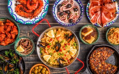 typical spanish tapas