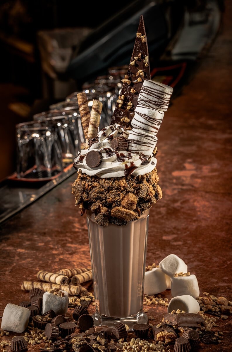 Candy Bar Crush Boozy Milkshake