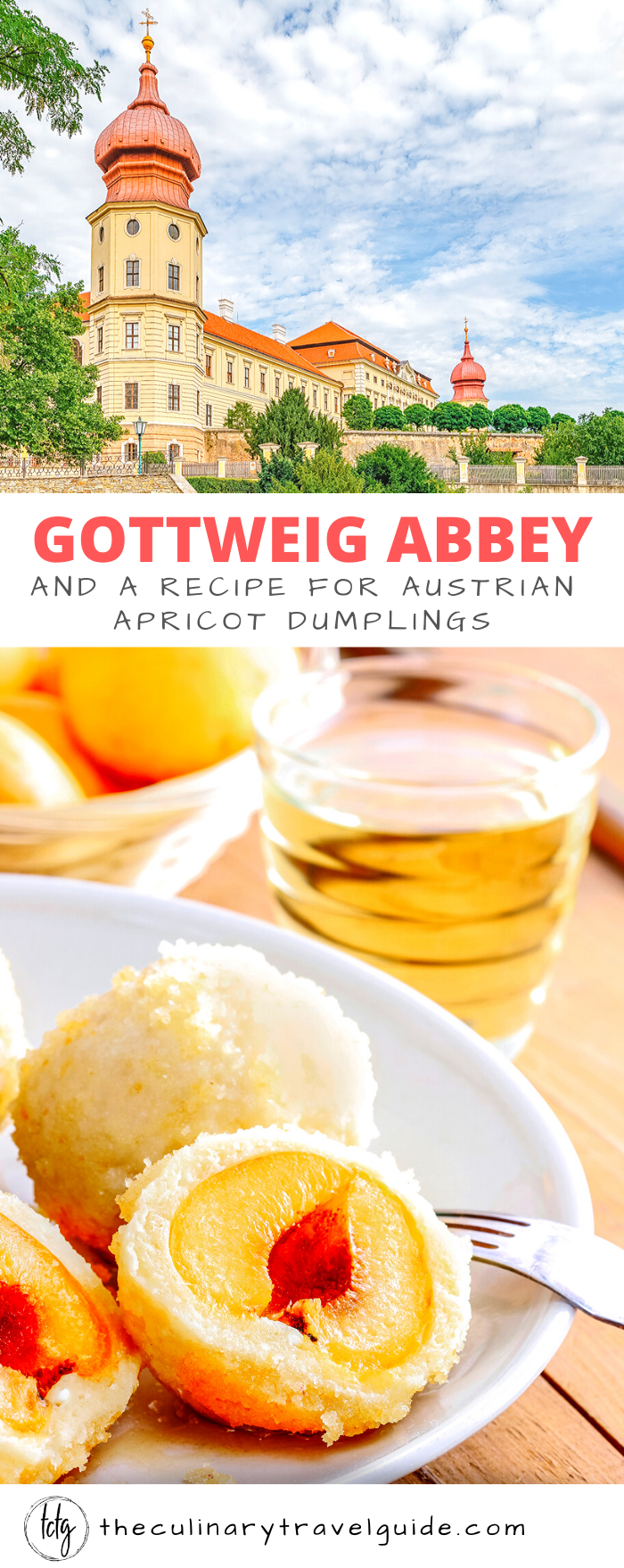 Pinterest Graphic for Gottweig Abbey