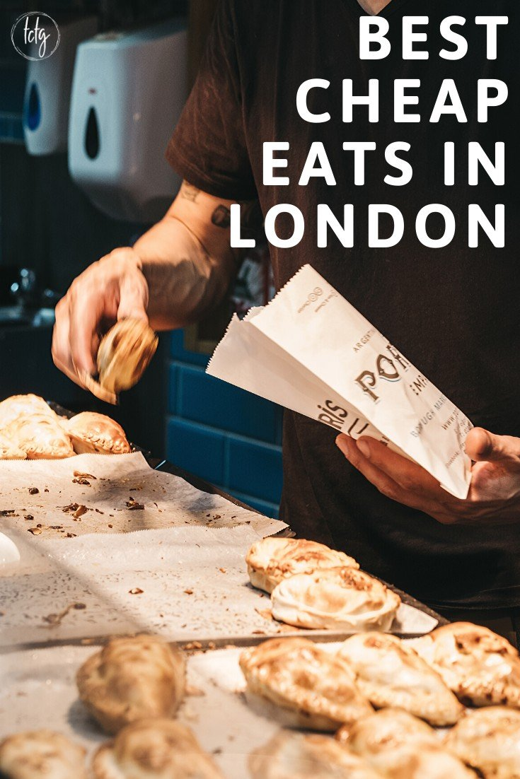 21 of the Best Cheap Eats in London | Despite the fact that you can easily spend hundreds on one meal, there are also plenty of places to eat in London where you can dine for under £20 per person. We've put together an epic list of the most delicious yet affordable places to eat in the city. If a trip to London is in your future, be sure to pin this one. | #London #LondonTravel #LondonEngland