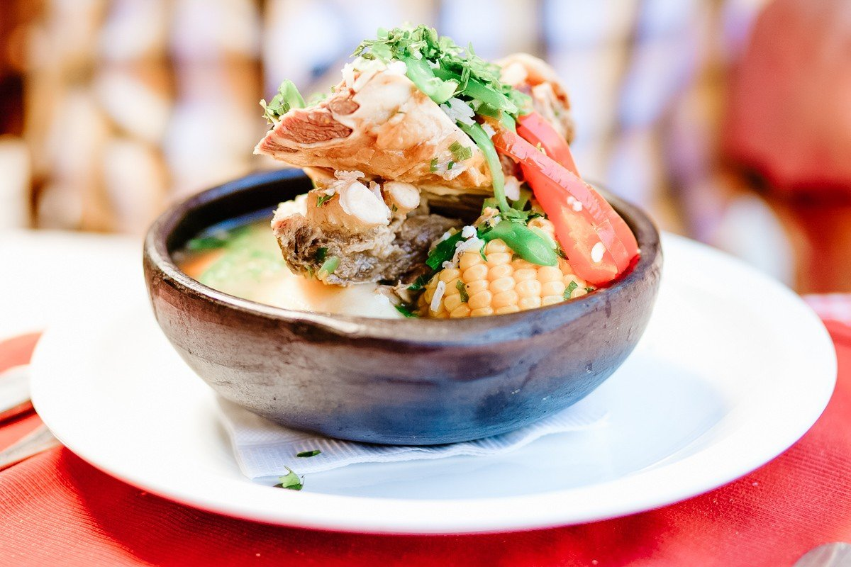 Traditional Chilean soup