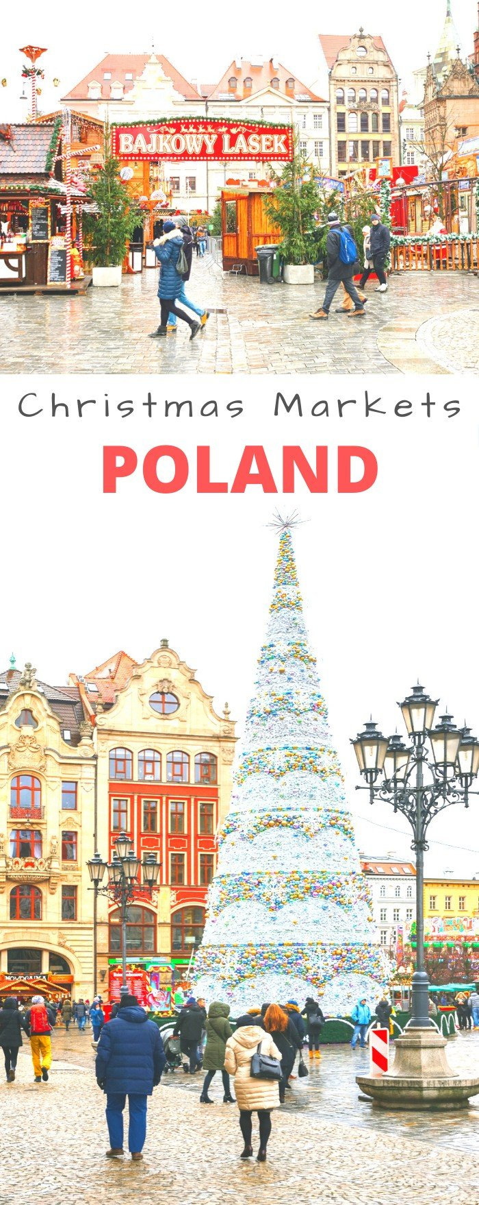 Most of us think of Austria or Germany when we think about traditional Christmas markets, but just across the border in Poland, you can find many equally beautiful and less crowded markets. So why not come to Poland and try the special Christmas food and drinks, and unique handicrafts on offer? #Poland #ChristmasMarkets #Krakow #Wroclaw #Poznan #Gdansk #Travel #Holidays #WinterTravel